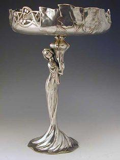 WMF Maiden Art Nouveau Tazza