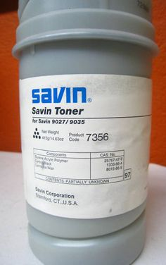 Savin Toner Black compatible for 9027 / 9035 Product Code 7356 Styrene Acrylic $24.95 BO and Free Shipping! Spring and Summer accessorizing is very important for Your Personal Brand! Island Heat Products www.islandheat.com today's clothing Fashions and Home Goods with Great Family Gift Idea's. Shop Island heat on eBay and Bonanza for Great Deals and same day shipping!