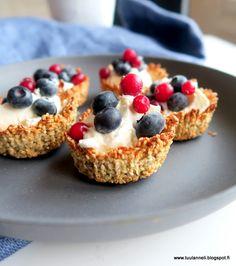 granolakupit siemennäkkärireseptillä brunssipöytään Cheesecake, Desserts, Food, Tailgate Desserts, Deserts, Cheesecakes, Essen, Postres, Meals