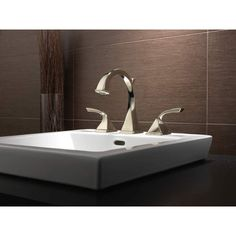 Brizo 65330LF-PC-ECO Virage Chrome  Two Handle Widespread Bathroom Faucets |eFaucets.com blakely's bath