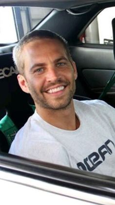 Paul Walker......His Smile was Electric & Always will be. Miss Him.