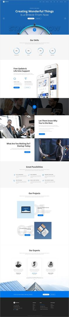 StartUp is a wonderful premium #PSD template for multipurpose #startups #website with 7 unique homepage layouts and 16 organized PSD files download now➩ https://themeforest.net/item/startup-multipurpose-startup-psd-template/18473132?ref=Datasata