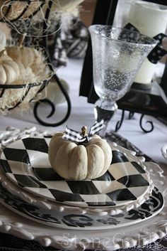 StoneGable: Halloween and Fall tablescapes