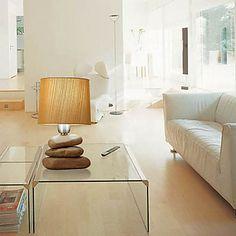 Modern Stones Base Polymer Bedside/Table Lamp – USD $ 59.99