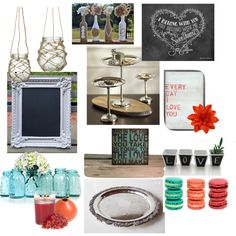 """Kristin's Engagement Party Decor Option 1"" by kksteward on Polyvore"