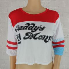 Harley Quinn Suicide Women Clothes Harajuku Squad T Shirt Shorts Batman Movie Joker Camisetas Cosplay Tops Tee