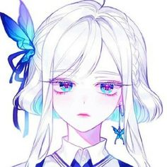 Silai Wur – About Anime Anime Chibi, Anime Girlxgirl, Chica Anime Manga, Anime Hair, Anime Eyes, Kawaii Anime Girl, Manga Kawaii, Anime Art Girl, Anime Girls