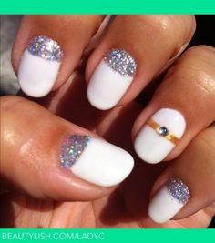 Wedding nails design