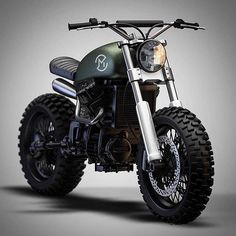 Honda CX 500 Scrambler by Ziggy Motorcycles