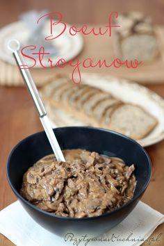 Boeuf Stroganow - #przepis na wołowinę zwaną też czasami beef stroganoff lub strogonow  http://pozytywnakuchnia.pl/boeuf-stroganow/  #obiad #kuchnia #wolowina