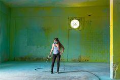 sofia maldonado envelops a derelict factory in waves of color