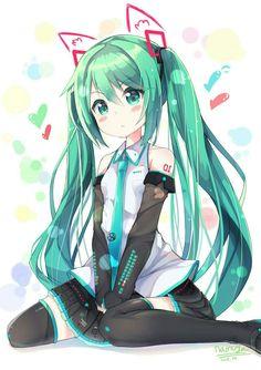 Anime, Art, Аниме, Hatsune Miku, Vocaloid