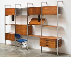 George Nelson Comprehensive Storage System (CSS) for Herman Miller, designed c. 1959