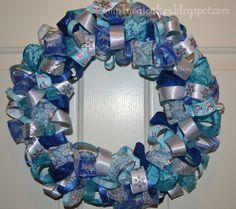 Winter Ribbon Wreath