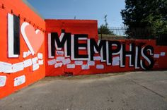 365 Things to Do in Memphis #14: Take your picture at the I Love Memphis mural   Flickr - Photo Sharing!