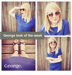 Check out the George blogger of the week @sheandhem with a lush summer look.