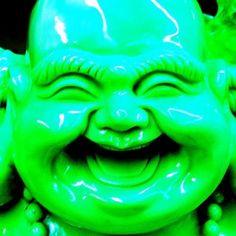green budha