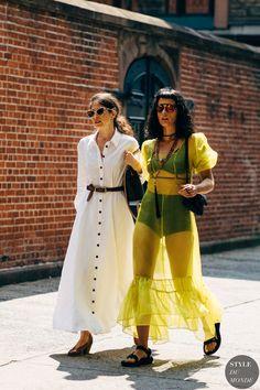 New York Fashion Week Street Style Spring 2019 Foto Fashion, Trend Fashion, Style Fashion, Fashion Ideas, Fashion Now, Japan Fashion, Cheap Fashion, Fashion 2018, Spring Fashion