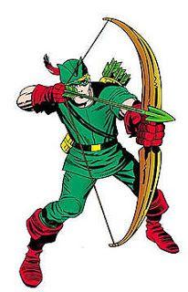 Arqueiro Verde - Quadrinhos e série - Capuz e cavanhaque
