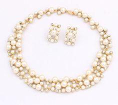 Women-Fashion-Jewelry-Pendant-Crystal-Choker-Chunky-Statement-Chain-Bib-Necklace