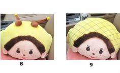 Cute Monchhichi Car Waist Pad and Blanket - NemoDeco Car Seat Cushion, Seat Cushions, Car Seats, Blanket, Cute, Bench Seat Cushions, Car Seat Pillow, Chair Pads, Kawaii