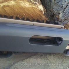 Mobile-friendly version of the 3rd project picture. Sniper Grey, Mossberg, Shotgun, Mossberg Model 88, Desert Sand H-199Q, Sniper Grey H-234Q