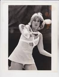 Chris evert upskirt