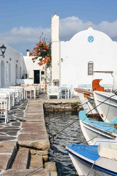 If you want something more authentic and much less touristed than Santorini and Mykonos, then head to the heart of the Cyclades - the island of Paros. Paros Greece, Santorini Greece, Mykonos, Vacations To Go, Vacation Spots, Vacation Resorts, Greece Vacation, Greece Travel, Greece Photography