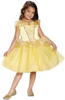 CostumePub.com - Girl's Disney Belle Costume