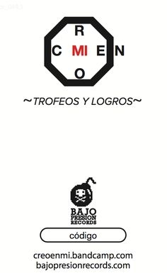 Creo En Mí - Trofeos Y Logros // Tarjeta Retiro