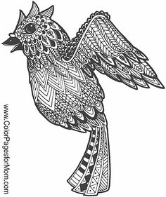 bird coloring page #bird #coloringpage #adultcoloringpage