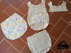 Mochila con patrón de Neus Mochila Tutorial, Little Bag, Handmade Bags, Sewing Tutorials, Sewing Ideas, Bag Making, Purses And Bags, Apron, Projects To Try