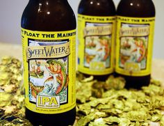 Sweetwater IPA, because what's manlier than a good southern IPA