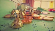 Coin chocolates and sweets