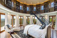 Beautiful library room!