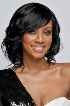 Short black hairstyles For Special Nights 2018 Short Black Women hairstyles with Layered Braided Hairstyles For Wedding, Elegant Hairstyles, Short Hairstyles For Women, Cool Hairstyles, Black Hairstyles, Short Haircuts, Bob Hairstyle, Hairstyles 2018, Bridal Hairstyles