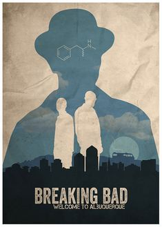 Breaking Bad poster byFlick Geek in Budapest, Hungary
