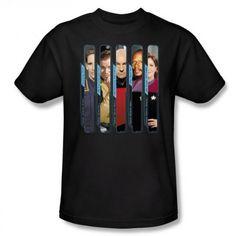 Star Trek The Captains T-Shirt