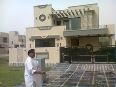 Wonderful New Home Designs Latest.: Pakistani Modern Homes Designs Front Views  Pictures.
