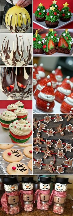 Simple christmas party food ideas and recipes 12 - Coffee Milk Christmas Party Food, Xmas Food, Christmas Sweets, Christmas Cooking, Christmas Goodies, Christmas Desserts, Holiday Treats, All Things Christmas, Simple Christmas