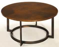 Nueva Round Cocktail Table by Hammary
