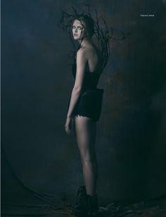 black swan: natalia bulycheva by vladimir vasilchikov for stolnick january 2016 | visual optimism; fashion editorials, shows, campaigns & more!