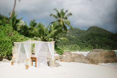 Africa Wedding ♦ Seychelles Destination Wedding with Stina Kase www.MadamPaloozaEmporium.com www.facebook.com/MadamPalooza