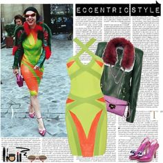 """""""eccentric style"""" by helena99 ❤ liked on Polyvore"""