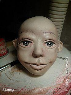 Голова куклы из папье-маше и керапласта. | Страна Мастеров