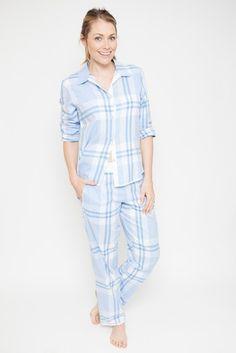 9f01658330 Buy Cyberjammies Check Print Trouser Pyjama Set from the Next UK online shop