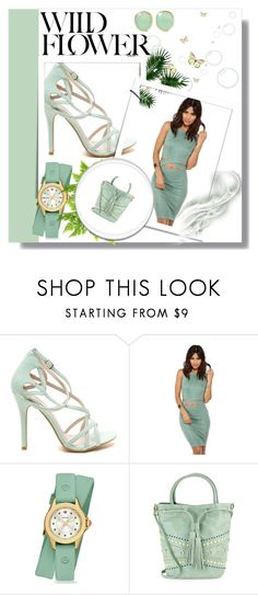 """""""Green"""" by s-o-polyvore ❤ liked on Polyvore featuring Michele, Steven by Steve Madden and Pippa Small"""