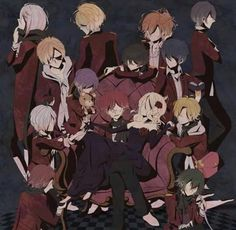 Diabolik lovers lost eden   just love how Yui is sitting on ayato's lap my ship has sailed