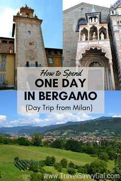 Bergamo is close enough to the city of Milan, Italy that it is home to one of the 3 major Milan airports, and a great destination for a day trip – whether you're flying through its airport or not. Click to read more about all the beautiful things to see in this UNESCO heritage city in one day (24 hours)!