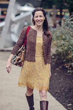 Knitting Patterns Cardigan Sophie Knitting pattern by Jennifer Wood Crochet Cardigan, Knit Crochet, Jennifer Wood, Cardigan Design, Baby Scarf, Christmas Knitting Patterns, Dress Gloves, Yarn Brands, Knit Picks